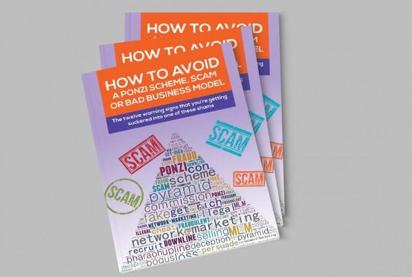 Avoid Ponzi Scam E-Book